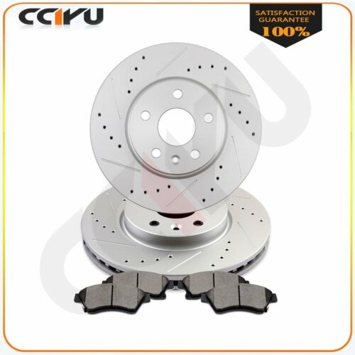 Front Brake Rotors Ceramic Pads For 11 12-2018 Chevy Cruze 2012-2018 Sonic