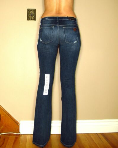 a Visionaire Dark alta Jeans Bootcut 24 169 Distressed Joe's vita Maggie qRt1gtw