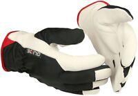 5163 GUIDE Montagehandschuhe Schutzhandschuhe Handschuhe gefüttert Leder 9 - 11