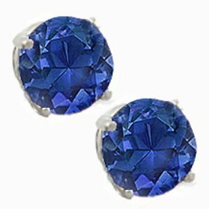 14K-GOLD-SAPPHIRE-2-86-CARAT-ROUND-SHAPE-STUD-PUSH-BACK-EARRINGS-80-SALE