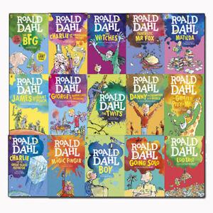 Roald-Dahl-Collection-15-Books-Set-Dahl-Fiction-Children-039-s-Classics-Pack-NEW-PB