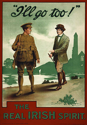 British World War Wartime Recruitment #16 A3 Size Wall Poster Print Art Deco