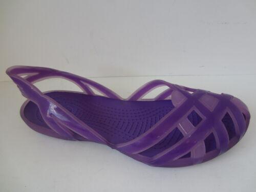 Girls Purple Light Weight Slip On Crocs 14410