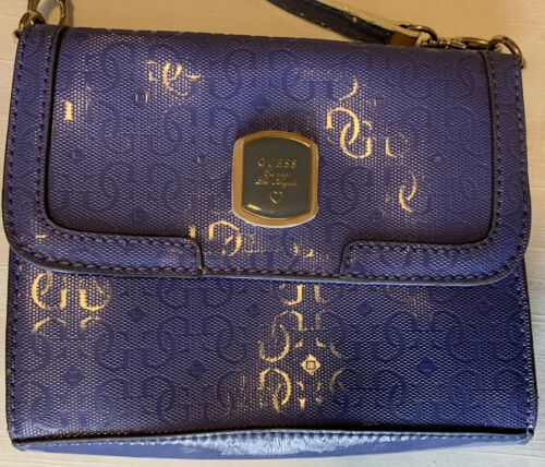 EUC Guess Est 1981 Los Angeles Crossbody Frosted M