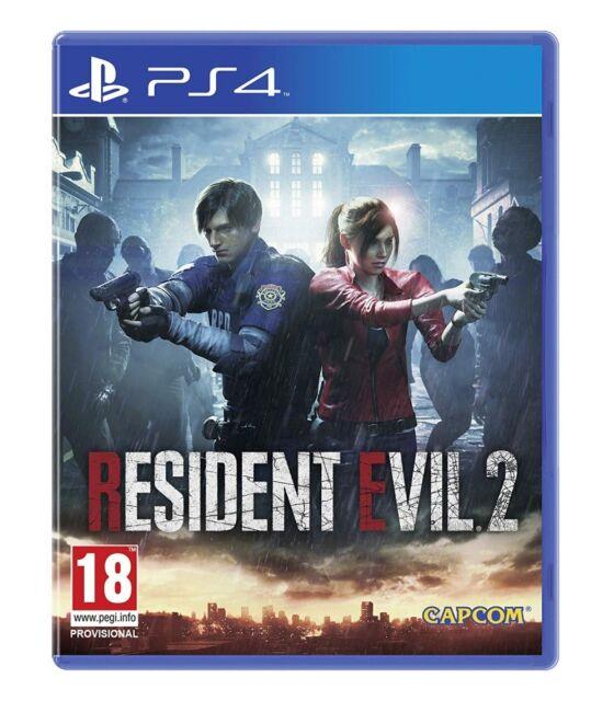 Resident Evil 2 Uncut PS4 NEU OVP Playstation 4 Resident Evil 2 HD Remake