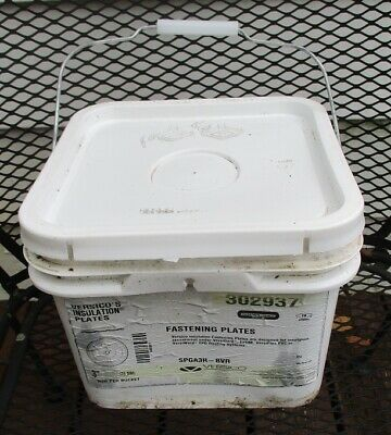 "VERSICO/'S FASTENING PLATES 1000 per Bucket 3/"" // 76 mm Diameter #302937"