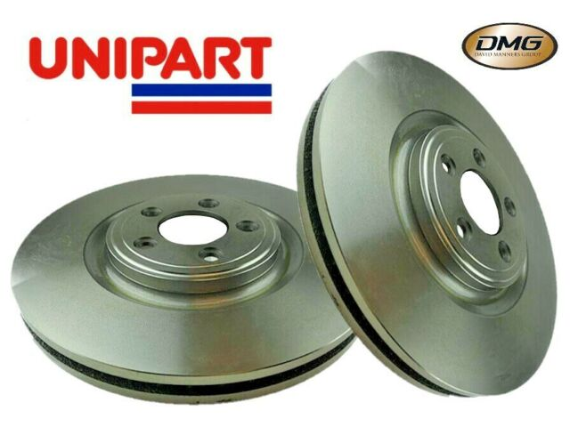 FOR JAGUAR XF 2009 FRONT 355mm VENTED BRAKE DISCS AND PADS SPORTS BRAKING