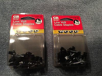 "100pk GB Gardner Bender 7//16/"" Low Voltage Cable Staples PSG-100 NEW"