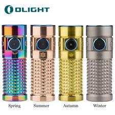 Olight Limited Edition Autumn S1R-II TGLD Ti LED Rechargeable Flashlight