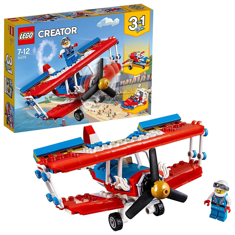 LEGO 31076 - CREATOR 3in1 - Biplano acrobatico - Nuovo sigillato ritirato stunt