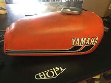 VINTAGE 70'S YAMAHA RD 350 RD350 CAFE  FUEL TANK  GAS TANK ORGINAL DECALS OEM
