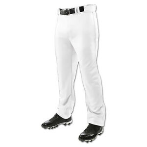 Champro-Triple-Crown-Open-Bottom-Youth-Baseball-Pants-White-NEW-Lists-26
