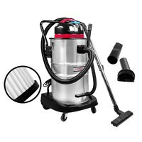 60l Wet & Dry Vacuum Cleaner And Blower Industrial Grade Bagless Drywall Vac