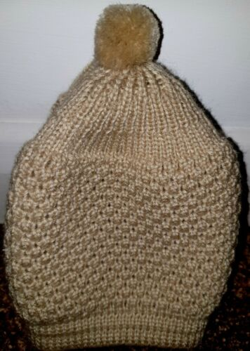Premium Quality Turkish Muslim Prayer Hat Crochet Bobble Winter Design