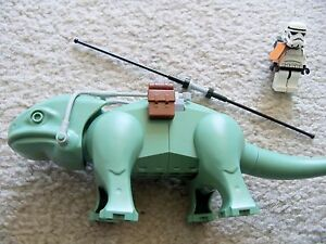 LEGO-Star-Wars-Rare-Dewback-with-Saddle-Gear-amp-Stormtrooper-Excellent