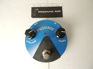 Dunlop FFM1 Silicon Fuzz Face Mini Effects Pedal Free US S&H