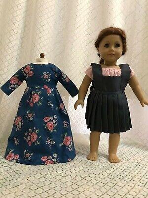 "Doll dress shirt for American girl 18/"" Doll Clothes dress 3pcs"