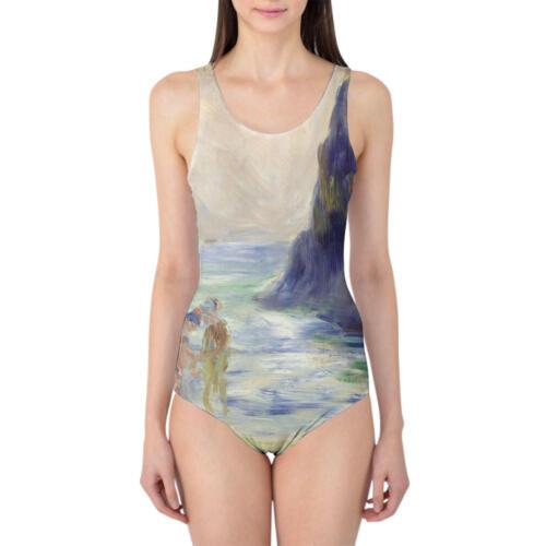 Renoir Guernsey Art Painting Women/'s Swimsuit One Piece