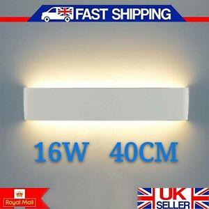 16W-LED-Indoor-Wall-Lights-Sconce-Light-Fittings-Corridor-Bedroom-Mirror-Lamp-UK