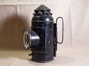 Antique Kerosene Nautical Decor Boat Signal Lantern Light Lamp Lens Hand Wall Ebay
