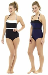 98ba578a79 Image is loading Tom-Franks-Bandeau-Swimsuit-with-Tummy-Control