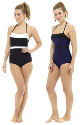 Tom Franks Bandeau Swimsuit with Tummy Control