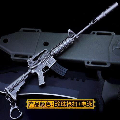 PUBG 1//6 M4A1 Assault Rifle gun Battlegrounds BattleField4  Assemble metal 20cm