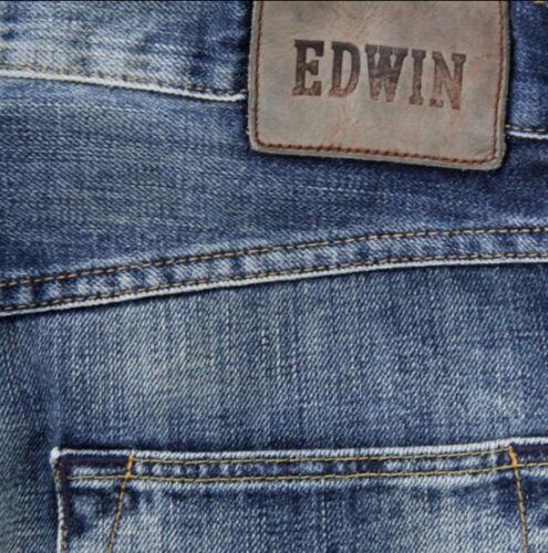 80 Blu Blu Jeans Ed Uomo G11 L34 scuro Val Edwin W31 Sottile qAxSZw4t