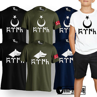 Ayyildiz Türkiye Istanbul Türkei Neu T-Shirt Druck Baumwolle Fruit of The Loom