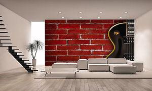 Guitar Music Wall Mural Photo Wallpaper GIANT DECOR Paper Poster