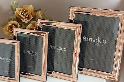 Bilderrahmen Fotorahmen Amadeo Kupfer 15 x 20 cm