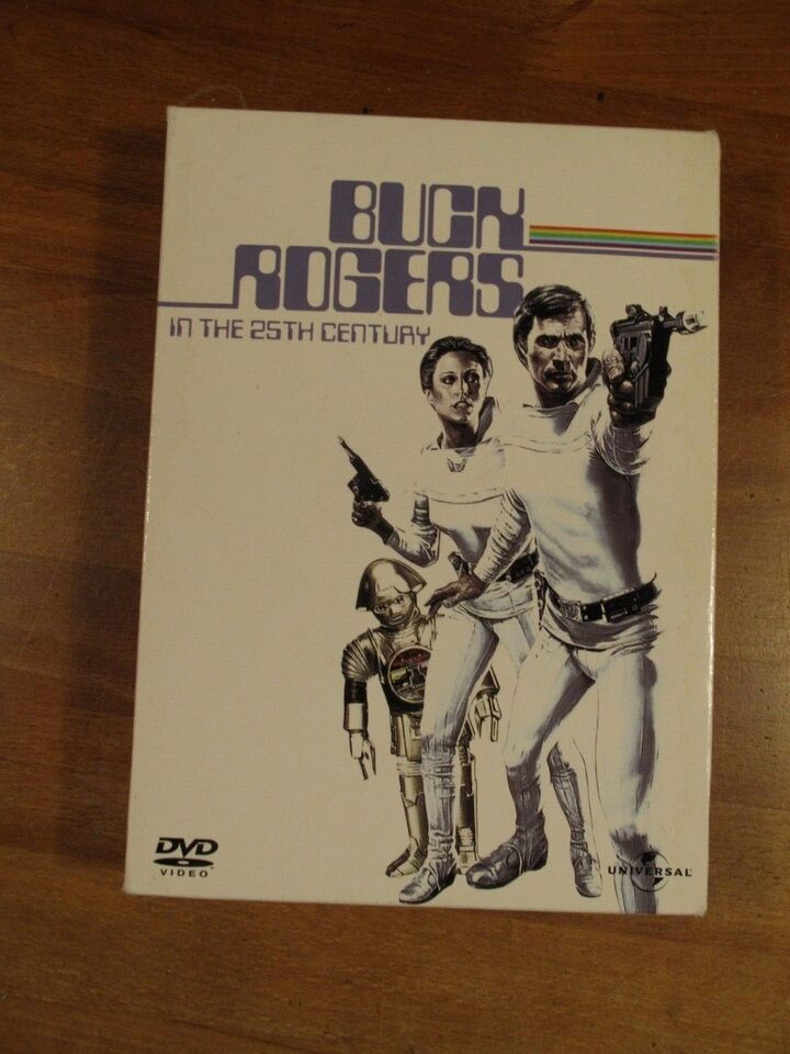 Buck Rogers in the 25th Century, DVD, science fiction