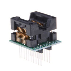 SOP20 to DIP20 20 Pin Programmer Adapter Socket Converter Board 1.27 mm Pitch QY