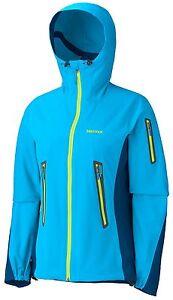 Marmot-leggero-Softshell-DELLE-DONNE-Vapor-Trail-cappuccio-ERL-XS-ATOMICO-Blue