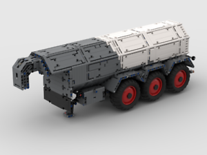 RBi Bauanleitung 42054 X Scheibenegge Eigenbau Claas Xerion MOC aus LEGO® Stein