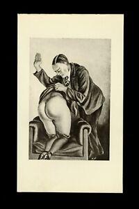 1931 Ch. Avalanche L'amour Fouet Héliogravure Noir Fessée Spanking Bdsm Curiosa Fournir Des CommoditéS Pour Le Peuple; Rendre La Vie Plus Facile Pour La Population