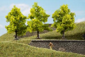 Auhagen-70935-Deciduous-Trees-Light-Green-7-CM-New-Original-Packaging