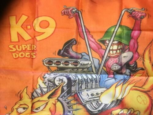 Rat fink furry freak bros man cave sign biker outlaw USA bar flag  the fuglies