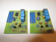 QUAD 66 pre amp MC Moving Coil 2x module boards 200µV 22nF MC stereo phono pair