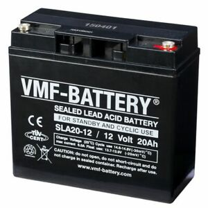 VMF-Batterie-AGM-de-veille-et-cyclique-12-V-20-Ah-SLA20-12-Batterie-Moto-scooter