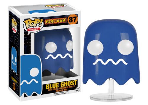 "DAMAGED BOX PAC-MAN BLUE GHOST 3.75/"" POP VINYL FIGURE POP GAMES FUNKO"