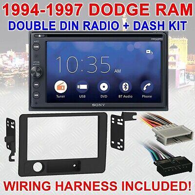 dodge ram stereo wiring sony 1994 1997 dodge ram bluetooth usb sd aux car radio stereo package  bluetooth usb sd aux car radio stereo