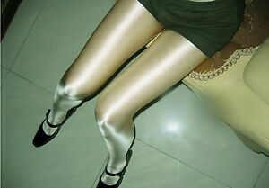 a70f9438c Women Lady shine Greenish Sexy Grey Stockings Pantyhose Tights ...