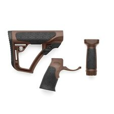 Daniel Defense Buttstock, Pistol Grip and Vertical Foregrip Combo, Mil Spec+
