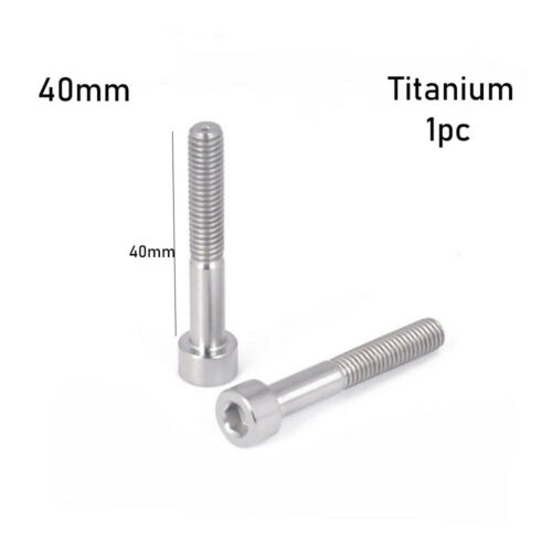 Accessories Bikes Fastening M6 Titanium Bolts Bicycle Headset Fixing Stem Top