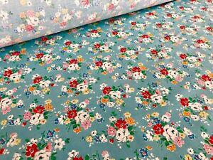 Christmas Fairground Blue,100/%Cotton Haberdashery Fabric per metre Cath Kidston