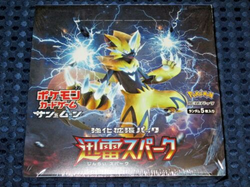 Pokemon Card Game SUN /& MOON Thunderclap Spark SM7a Enhanced Box 1st Print JAPAN