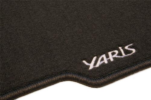 Genuine Toyota Yaris Carpet Mat Mats Set Textile 2011/> Anthracite Accessory New