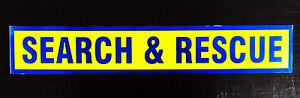 Search-amp-Rescue-Fluorescent-Self-Adhesive-Sticker-Sign