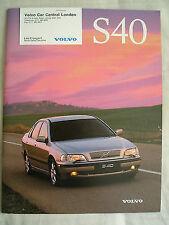 Volvo S40 brochure Jun 1997